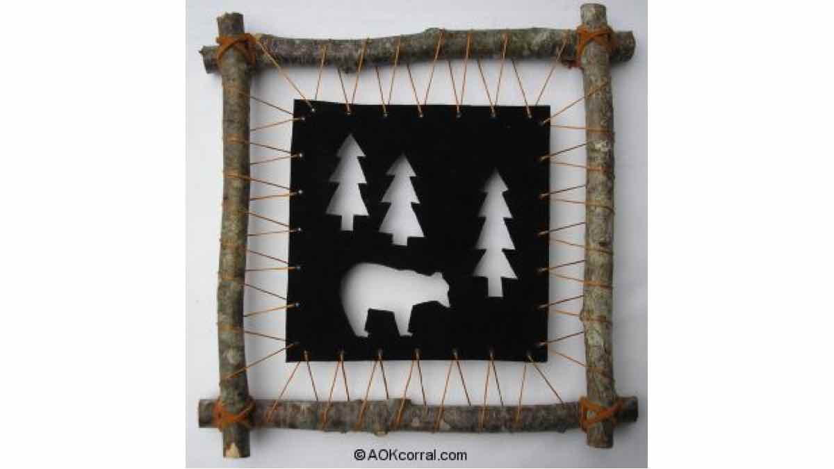 free woodworking plans, projects, patterns, bears, wildlife, animals, picture frame