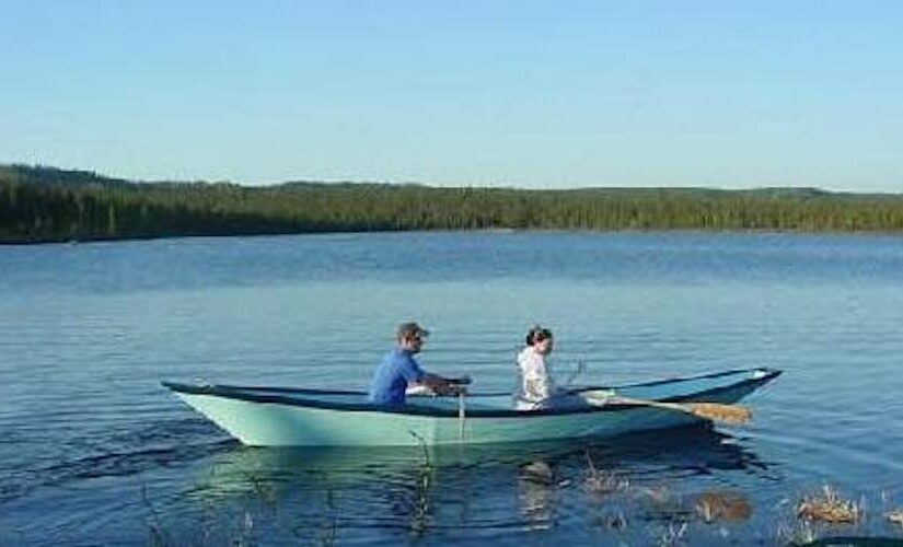 Dory boat