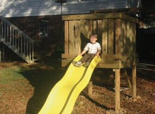 Build a Playground Slide using free plans.