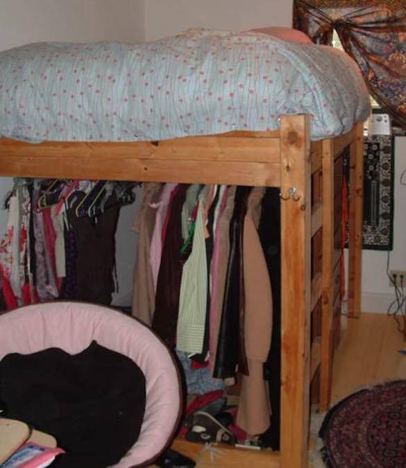 Build a Sturdy Loft Bed.