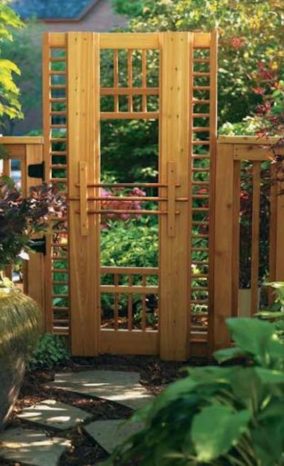 Free plans to build an Easy Weekend Gate.