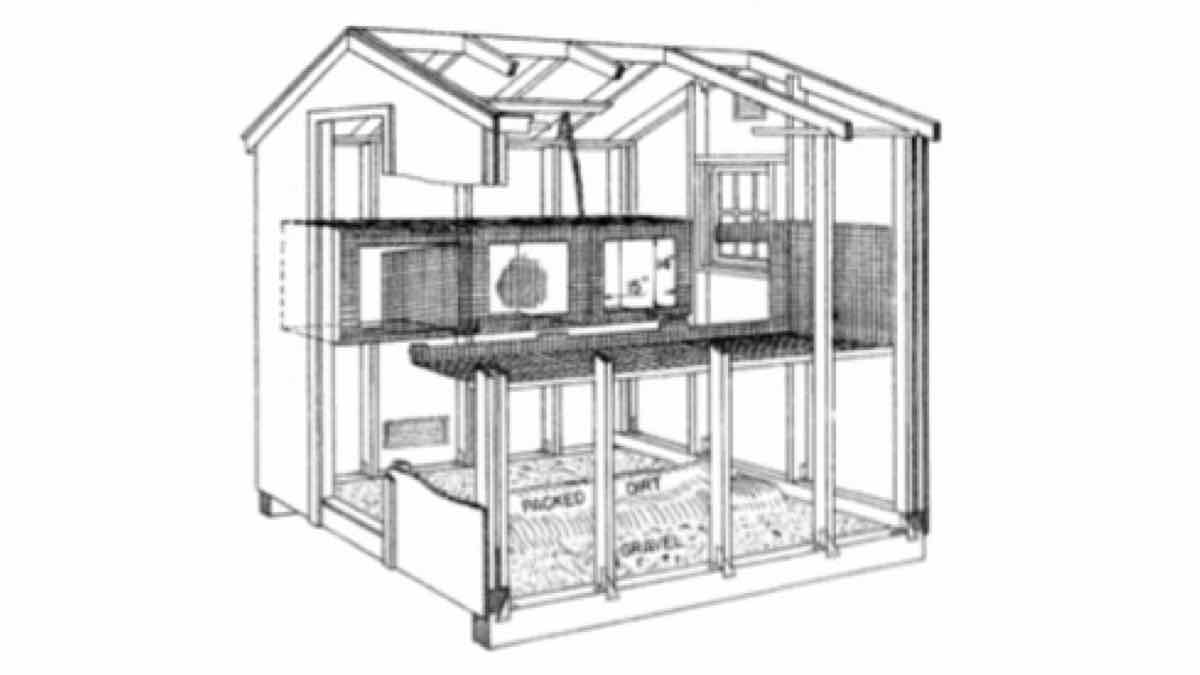 rabbits, hutches, cages, construction, farms, farming, pdf, downloadable, free woodworking plans