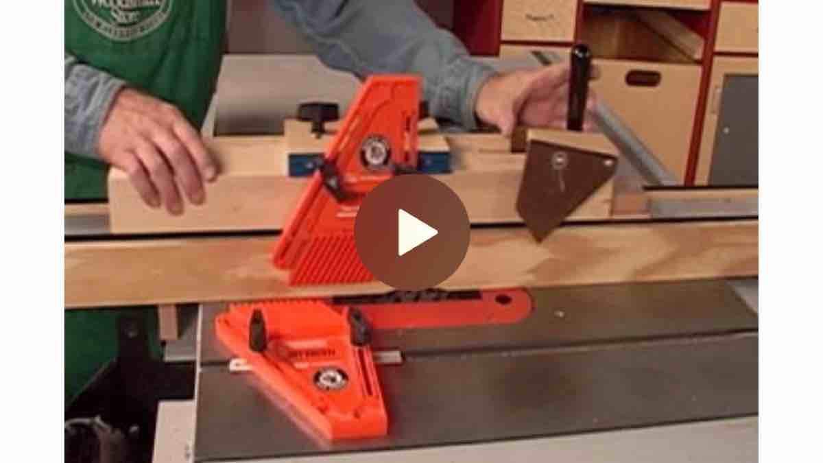 Tablesaw Hold-down Jig free project