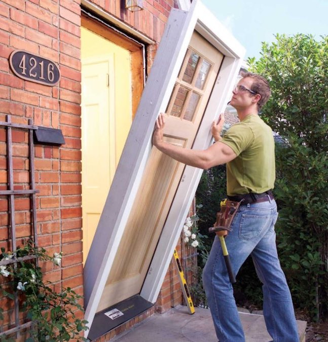 Learn how to do your own Exterior Door Replacement.