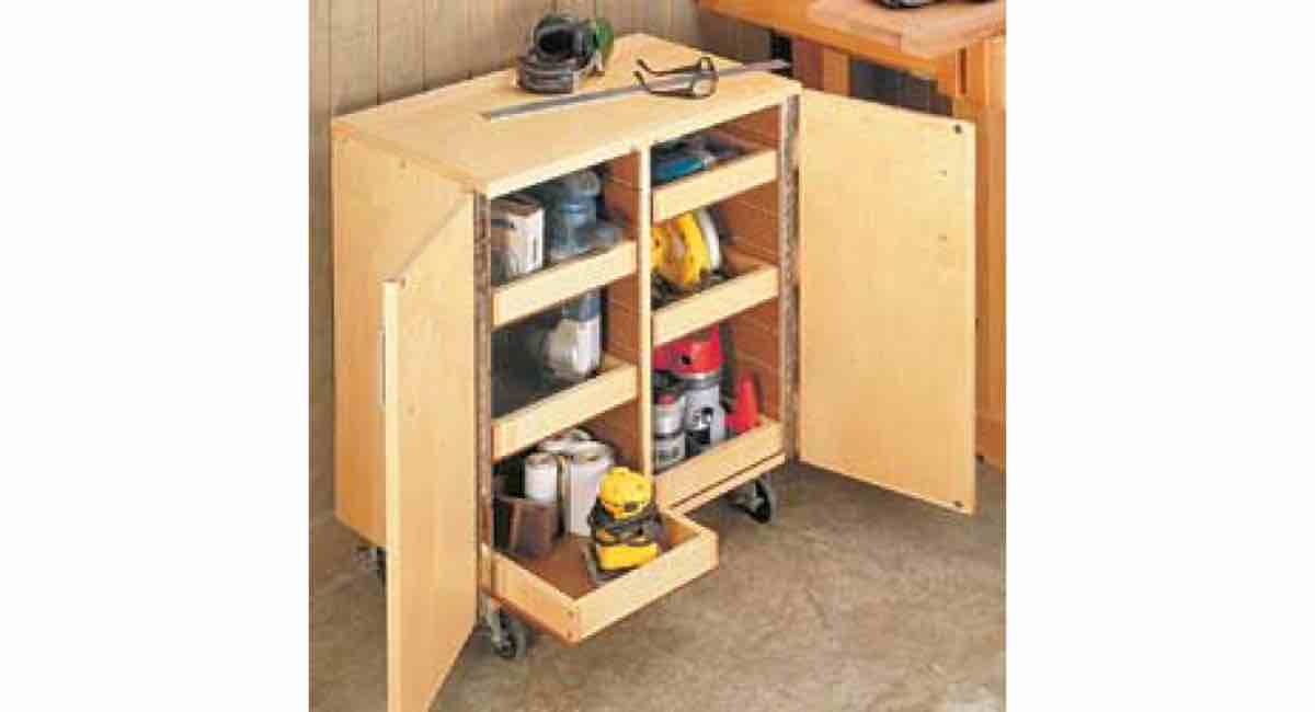 Free Project Plans for a Roll Around Tool Cart PDF