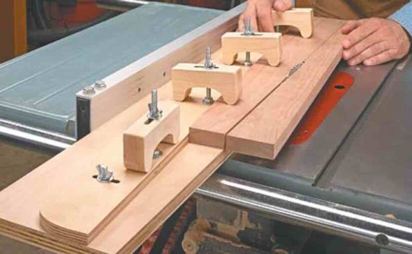 Adjustable Taper Jig