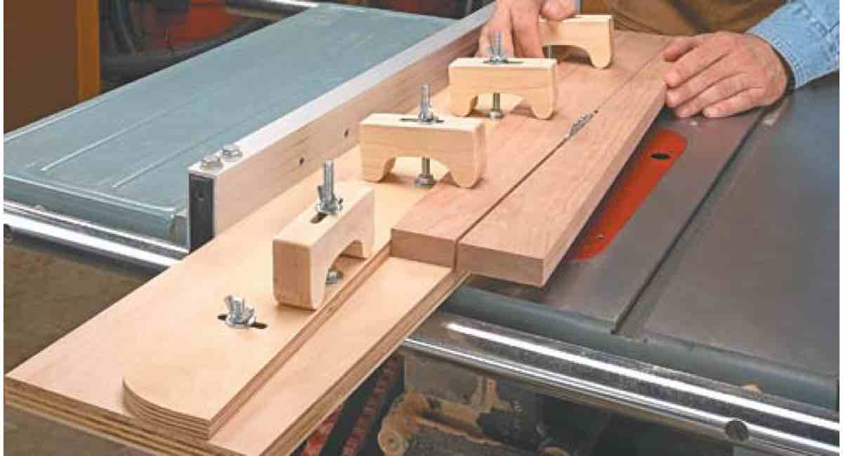 How to build an Adjustable Taper Jig