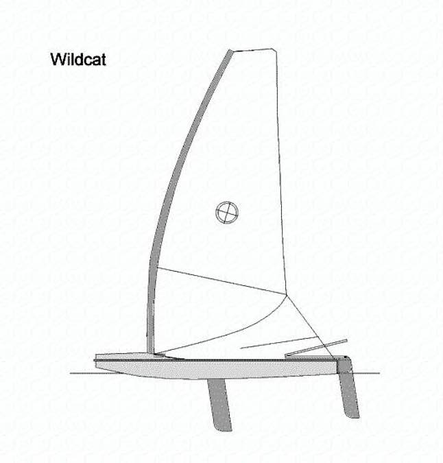 Free plans to build a Wildcat Sail Boat.