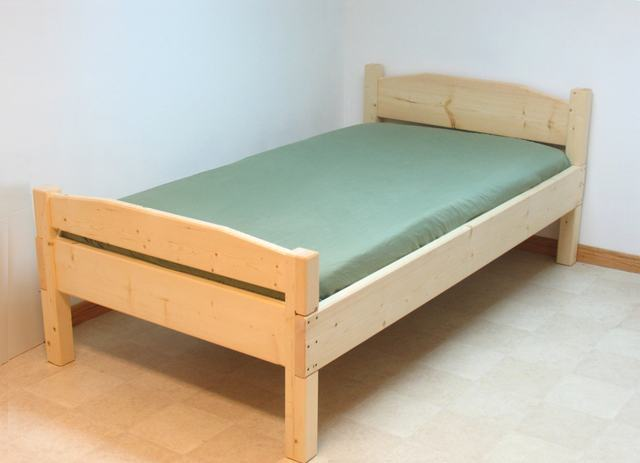 Free instructions to build your own Single Bed.