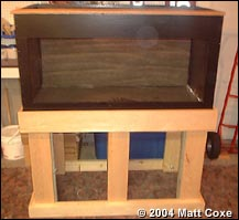 Aquarium Plywood Tank