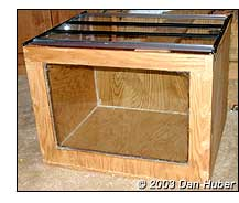 Aquarium Plywood Glass
