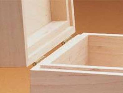Free plans to build a Lipped Box Lid.