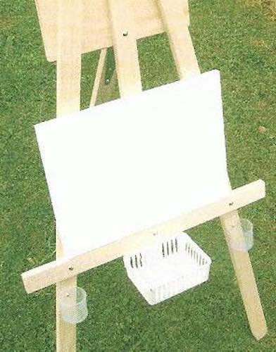 Build a Kids Multipurpose Easel using free plans.