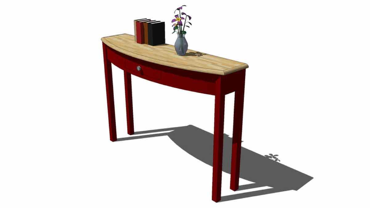 furniture,tables curved,sofa,consoles,hall tables,rounded,wooden,free woodworking plans,projects,patterns