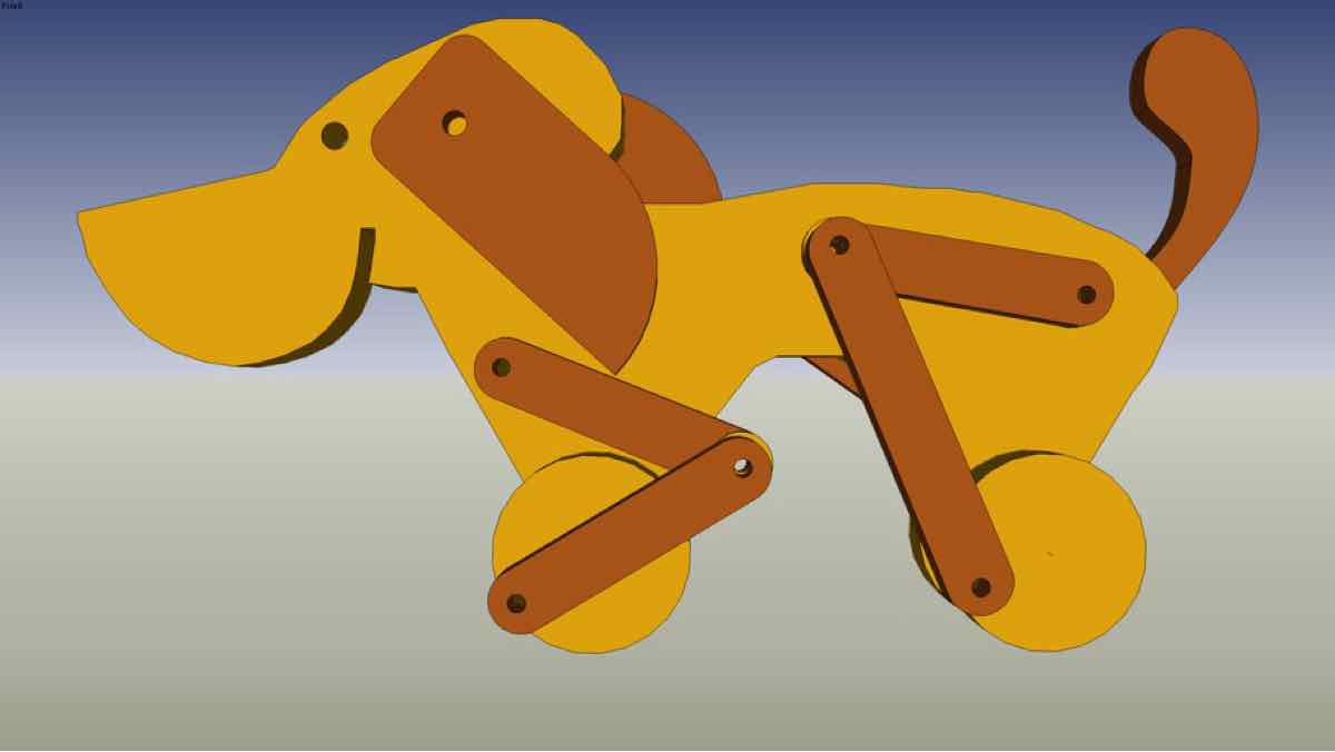 childs,childrens,pull toys,wooden,dogs,free woodworking plans,projects,patterns