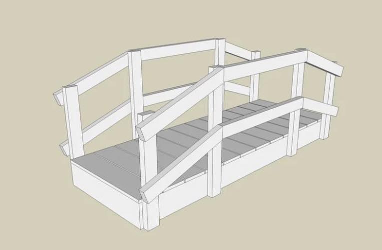 A Simple Garden Bridge