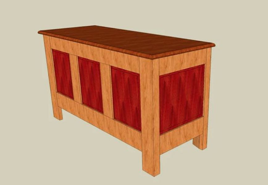 Free plans to build a Hope Chest.