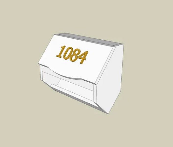 Build a Letterbox using SketchUp.