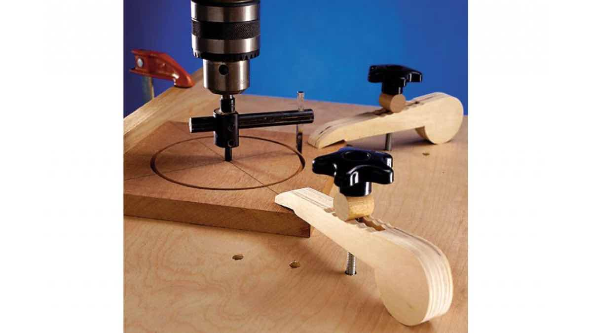 holding clamps,drillpress jigs,free woodworking plans,projects