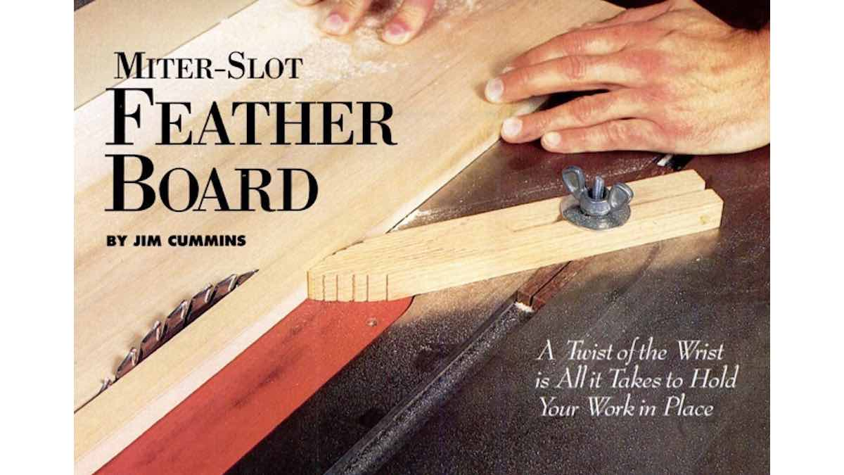 featherboards,miter slot,free woodworking plans,workhop projects,tablesaw jigs