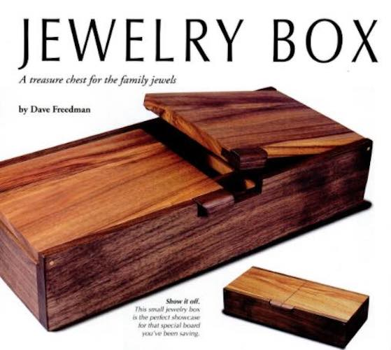 Free plans to build an American Jewelry Box.