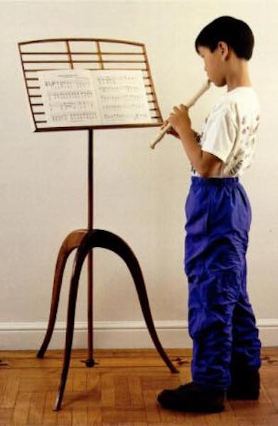 Free plans to build a Music Stand.