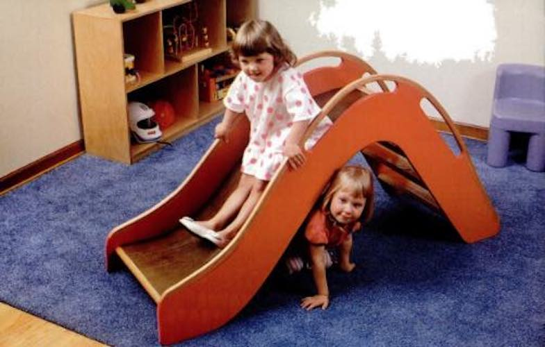 Build a Slide Pint-Sized using free plans.