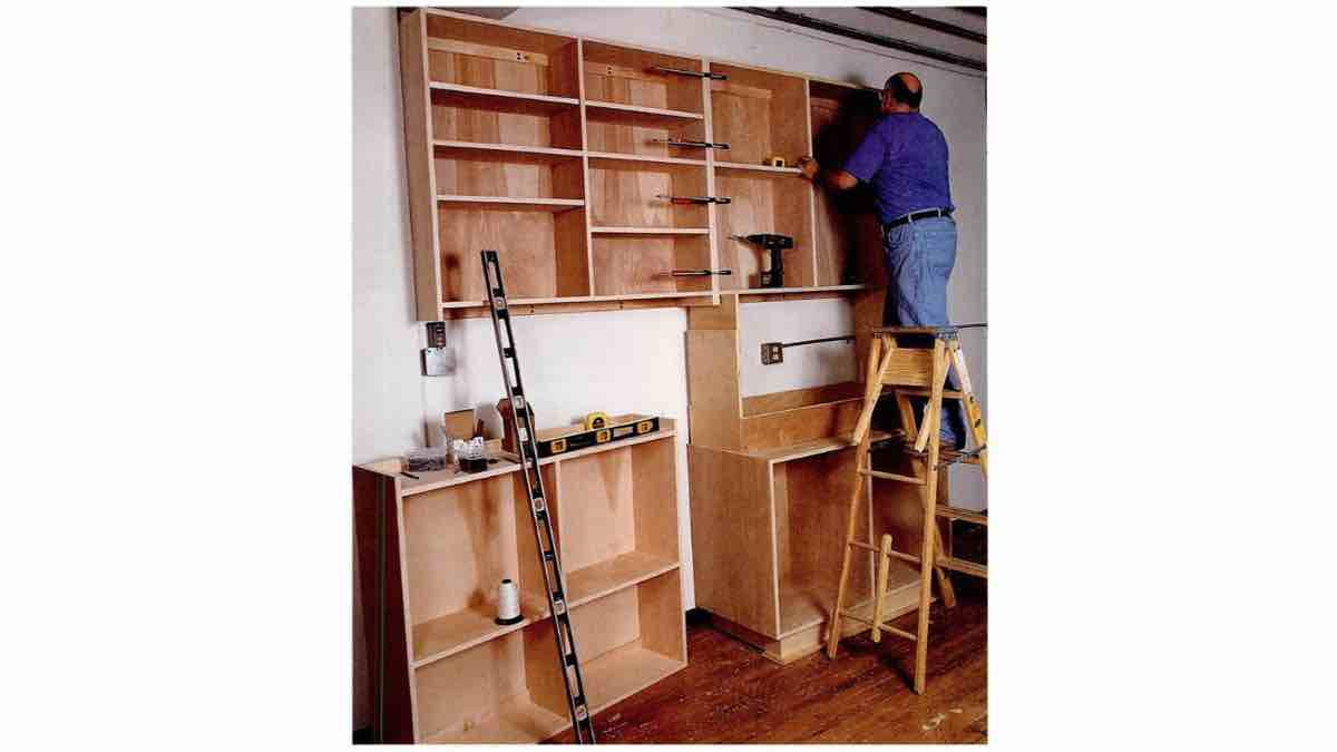 How to build American Workshop Cabinets