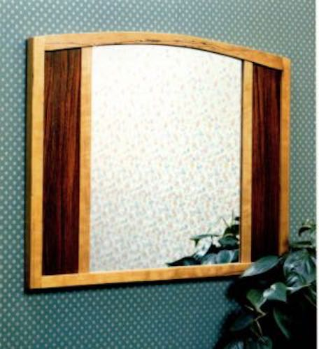 Free plans to build a Wall Mounted Mirror.