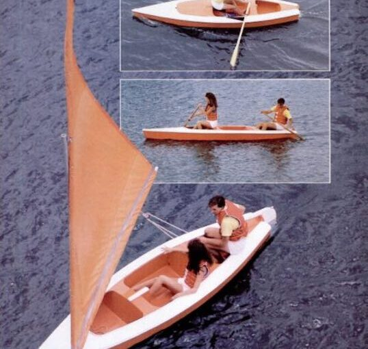 Build a boat that measures 14 feet with free plans.