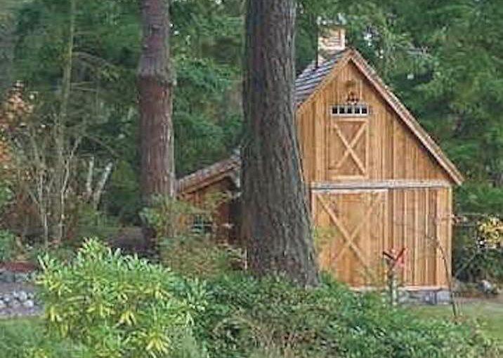 Garage and Shop Candlewood Mini Barn