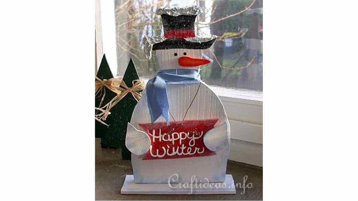 snowman,signs,easy,scrollsaw,DIY instructions,do it yourself,free woodworking plans,woodworkers projects,plans for how to build