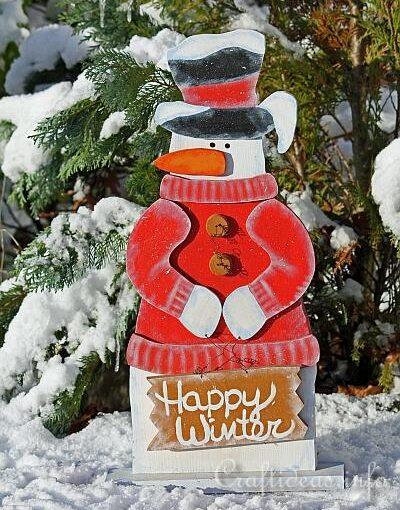 Snowman Door Greeter