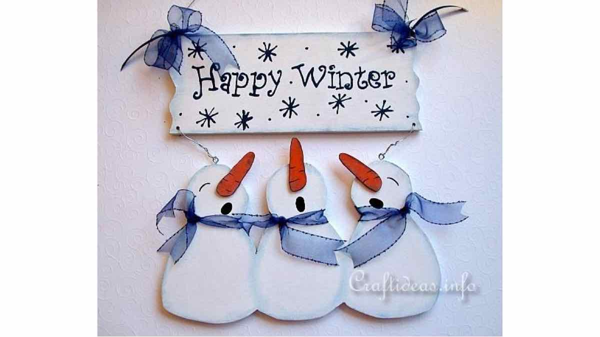 snowman,signs,winter,scrollsaw,easy,DIY instructions,do it yourself,free woodworking plans,woodworkers projects,plans for how to build