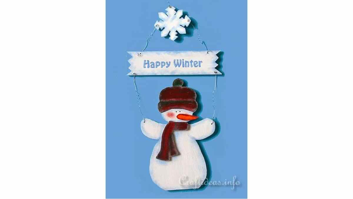 signs,scrollsaw,snowman,winter,easy,DIY instructions,do it yourself,free woodworking plans,woodworkers projects,plans for how to build