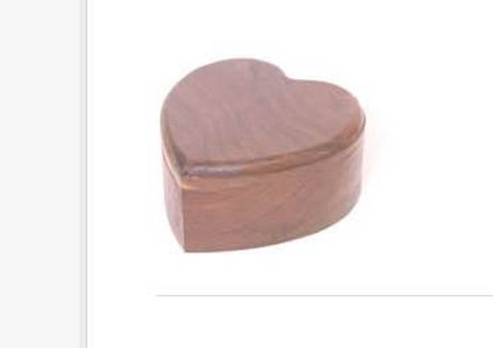 Build a Heart Shaped Jewelry Box using free plans.