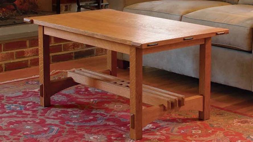 Build an Arts and Crafts Coffee Table.
