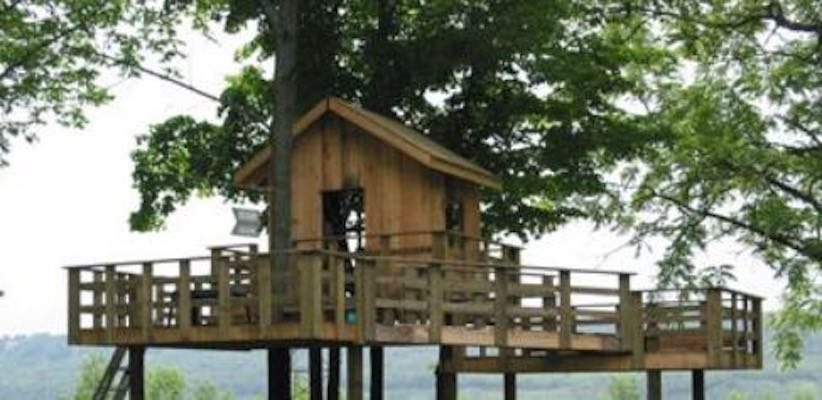 Learn how to build your own Treehouse A-Frame.