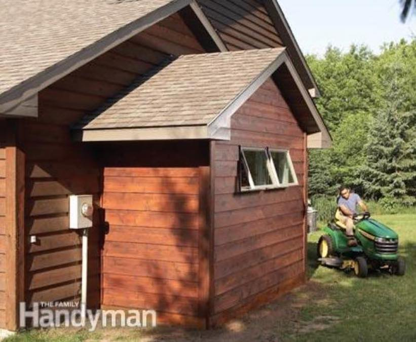Build a Garage Bump Out Addition with free plans.