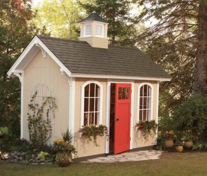 Free plans to build a Storage Shed.