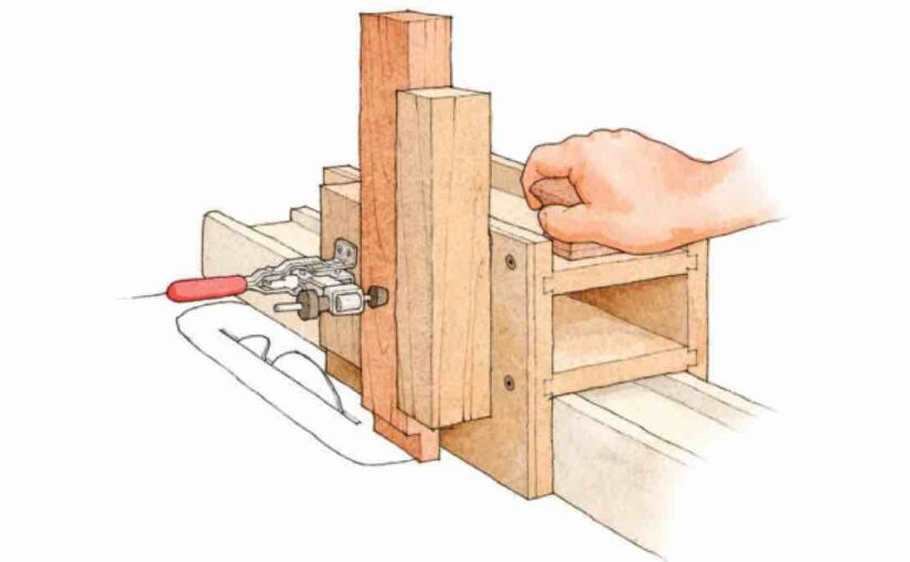 3 in 1 Joinery Jig for the Tablesaw