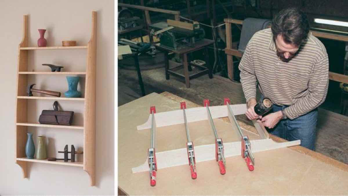 shelves,shaker,wall mounted,downloadable,wooden,DIY instructions,free woodworking plans,do it yourself,woodworkers,how to build