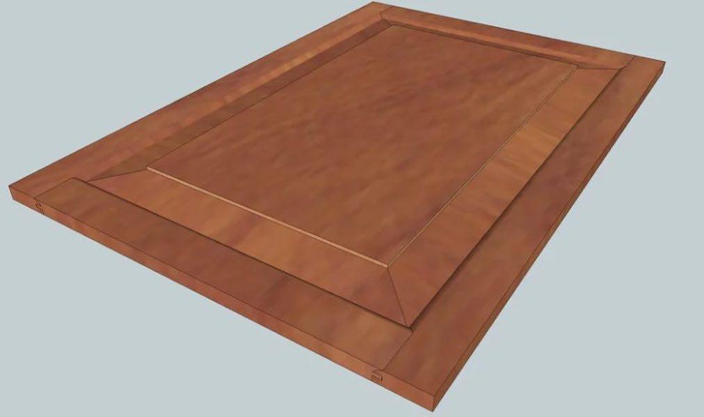 Learn how to build your own Raised Panel Door.