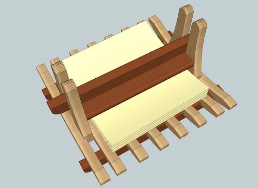 Build a Napkin Holder SketchUp.