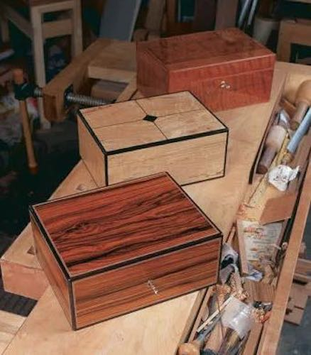 Free plans to build your own Humidor.