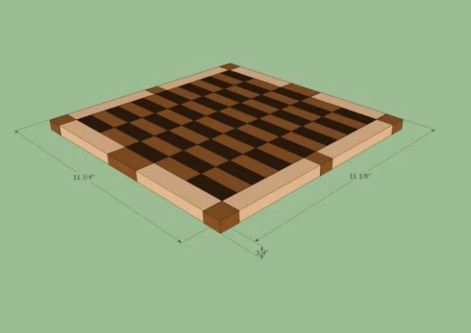 Free plans to build a Cutting Board Project.