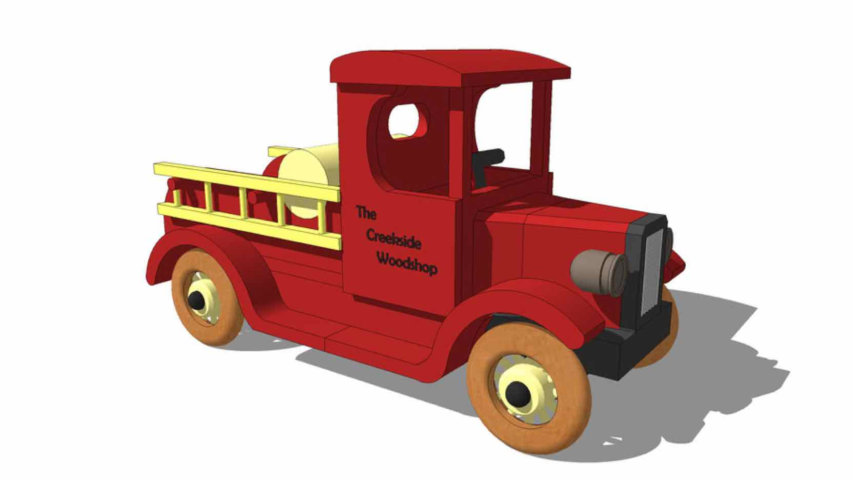 fire trucks,sketchup,Google 3D,toys,games,wooden,childrens,kids,childs,3-D warehouse,furniture,drawings,free woodworking plans,projects,do it yourself,woodworkers