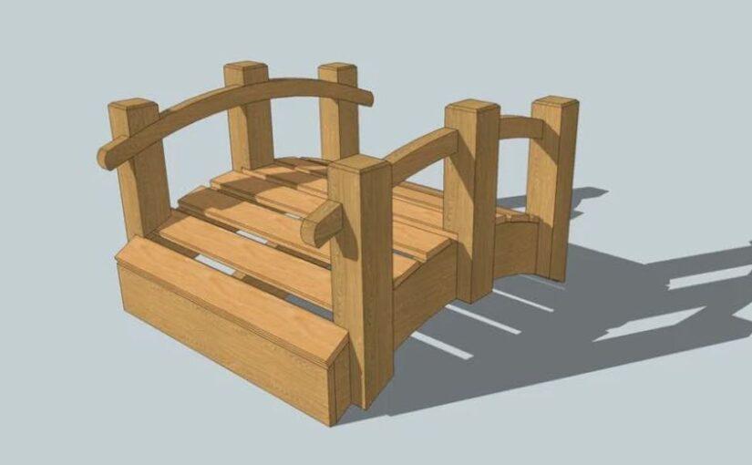 Garden Bridge SketchUp Design