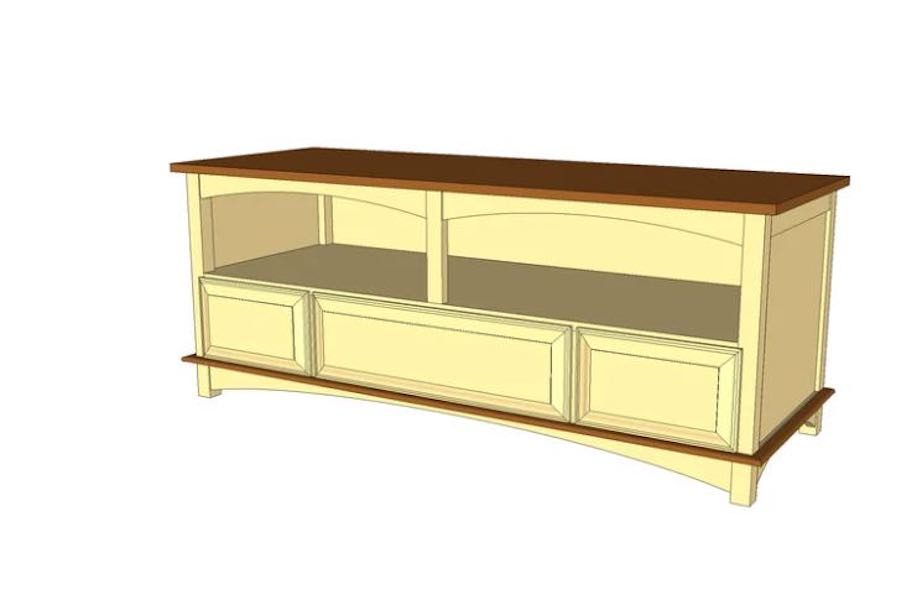 Build a Low Media Center using free plans.