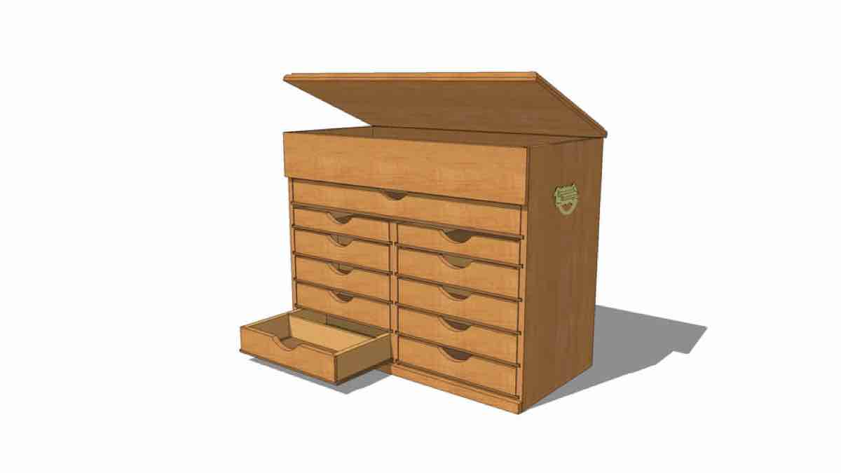 Tool Chest SketchUp Drawing